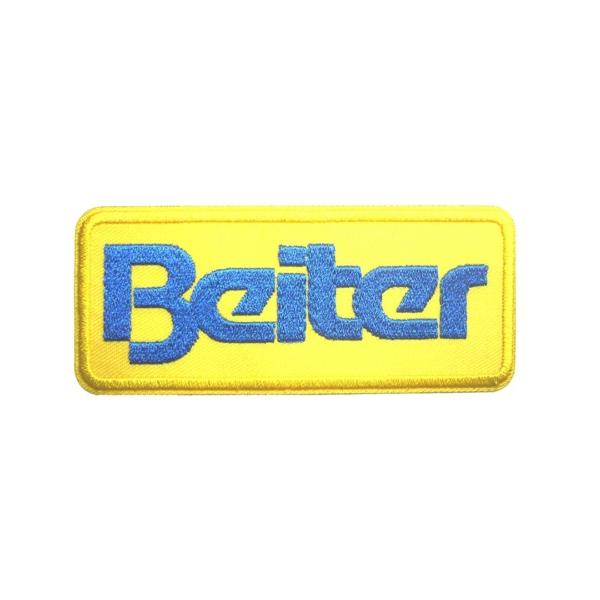 Beiter Badge Gelb blau